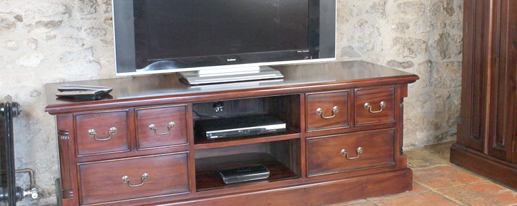 Mahogany TV Units