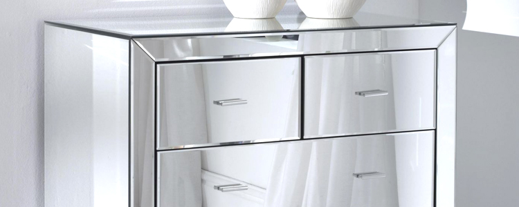 Mirrored Chest of Drawers