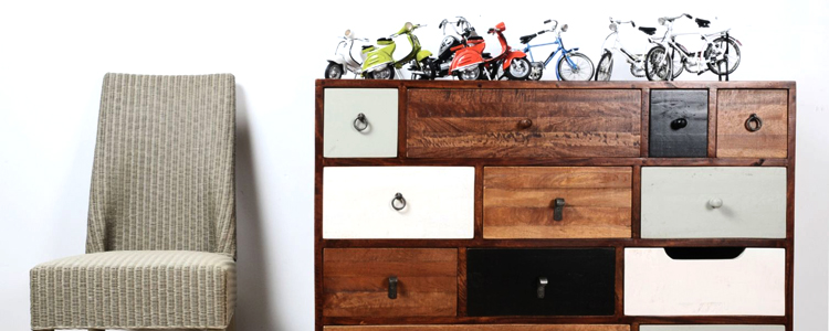Reclaimed Wood Chest of Drawers