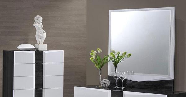 High Gloss Bedroom Mirrors