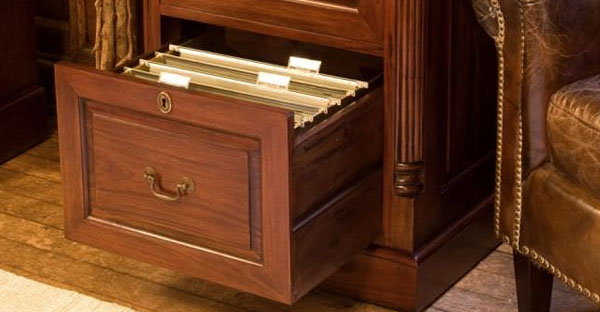 Mahogany Filing Cabinets