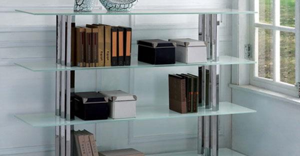 Glass Bookcases