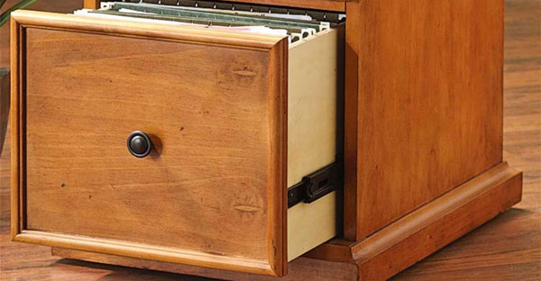 Pine Filing Cabinets