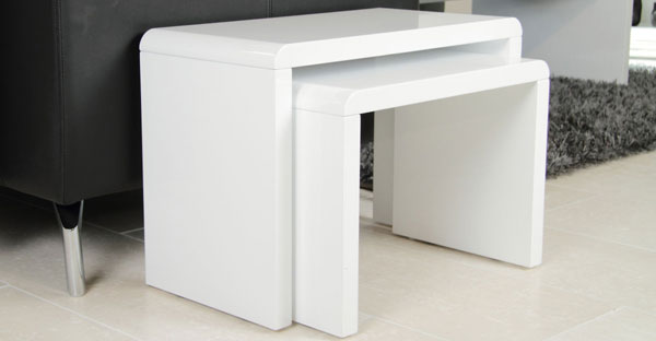 High Gloss Nest of Tables