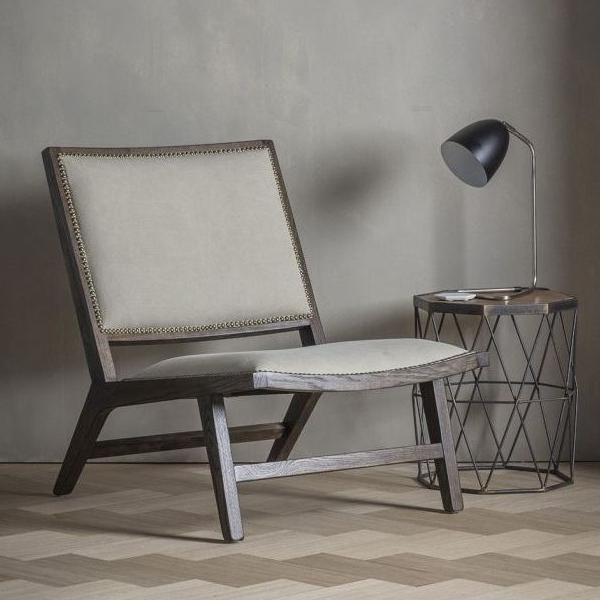 Huntsman Stone Washed Fabric Chair
