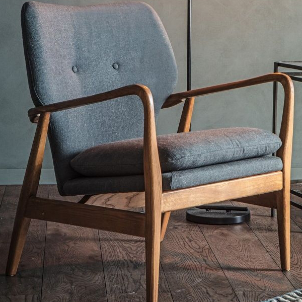 Jacob Grey Armchair