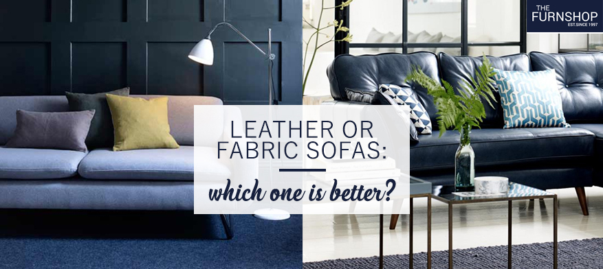 Leather or fabric sofas: which one is better?
