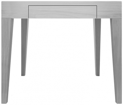 Cubo Grey Square Dining Table with Drawer