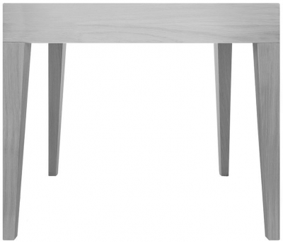 Cubo Grey Square Dining Table without Drawer