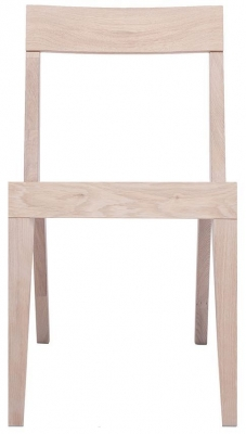 Cubo Oak Dining Chair with Wooden Seat