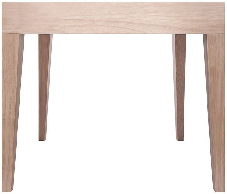 Cubo Oak Square Dining Table without Drawer