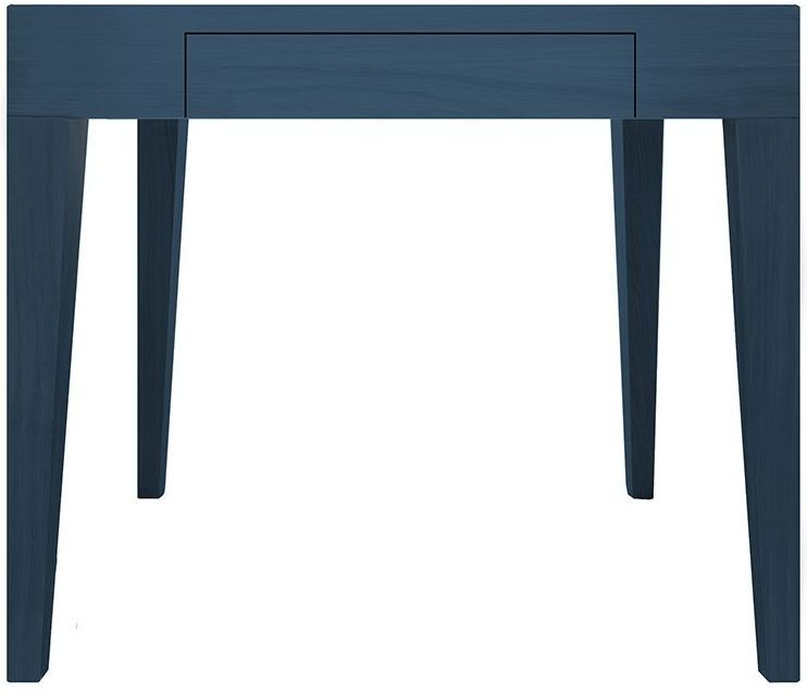 Cubo Blue Square Dining Table with Drawer