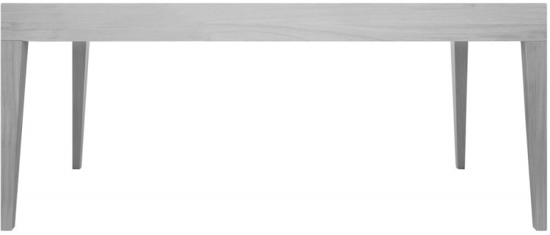 Cubo Grey Rectangular Dining Table without Drawer