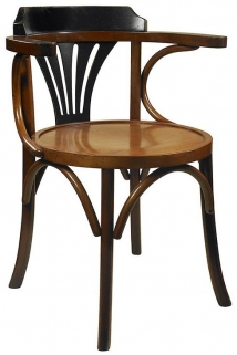 Black and Honey Navy Chair