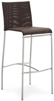 Connubia Jenny Metal Bar Stool with Footrest