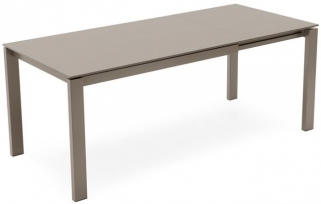 Connubia Baron Rectangular Drop Leaf Extending Dining Table - 130cm-190cm MF 130