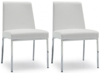 Connubia Amsterdam Upholstered Dining Chair (Pair) CB1286-LH