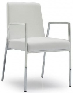 Connubia Amsterdam Upholstered with Armrest Dining Chair CB1287-LH