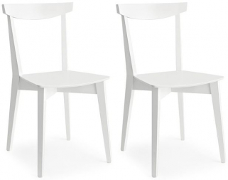 Connubia Evergreen Solid Beech Dining Chair (Pair)