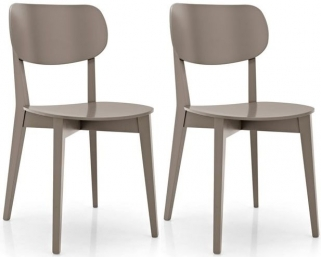 Connubia Robinson Solid Wood Dining Chair (Pair)