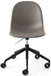 Connubia Academy Metal and Faux Leather Office Chair CB1695-SK