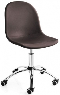 Connubia Academy Metal and Faux Leather Office Chair CB1911-SK