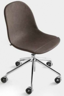 Connubia Academy Metal and Leather Office Chair CB1911-V