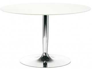 Connubia Planet Round Dining Table with Metal Base - 120cm