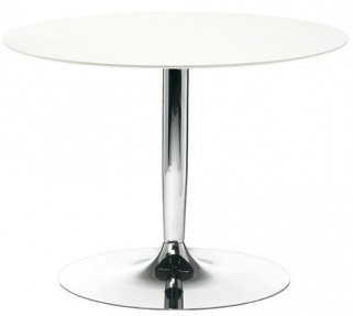 Connubia Planet Round Dining Table with Metal Base - 90cm