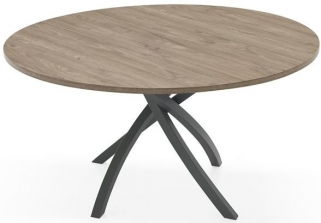 Connubia Twister Round Dining Table - 120cm