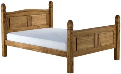 Hamilton Pine High Foot End Bed