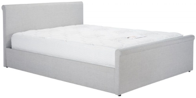 Piccadilly Grey Fabric Ottoman Bed