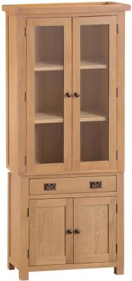 Tucson Oak 4 Door 1 Drawer Dresser