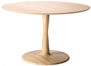 Ethnicraft Oak Torsion Round Large Dining Table