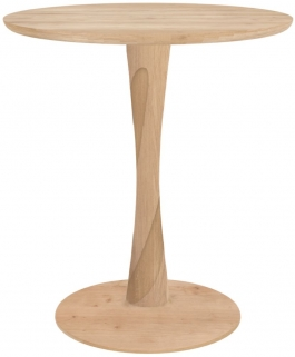 Ethnicraft Oak Torsion Round Small Dining Table