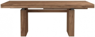 Ethnicraft Teak Double Extending Dining Table