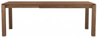 Ethnicraft Teak Slice Extending Dining Table