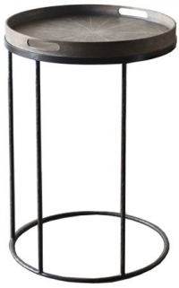 Small Round Tray Table