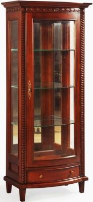 Palais French Mahogany Display Cabinet