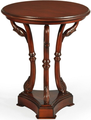 Palais French Mahogany Swan Table