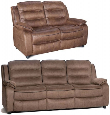 Dakota Fabric 3+2 Seater Fixed Sofa Suite