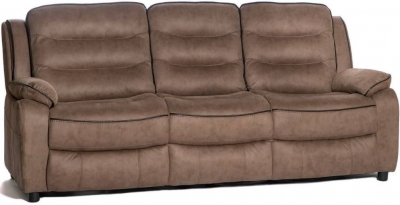 Dakota Fabric 3 Seater Sofa