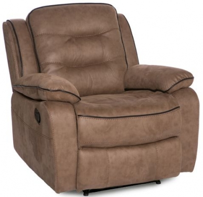 Dakota Fabric Recliner Armchair
