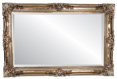 Barnet Antique Silver Rectangular Mirror - 125cm x 185cm