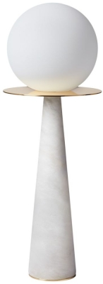 Halo Alabaster Glass Table Lamp