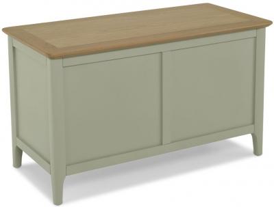 Ancona Sage Green Painted Blanket Box