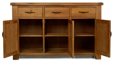Arles Oak Medium Sideboard