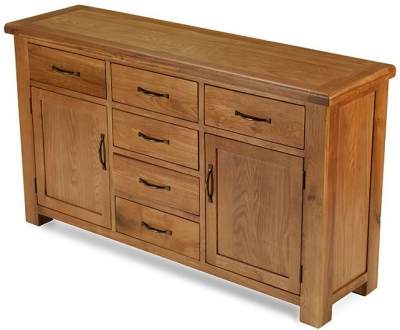 Arles Oak Wide Sideboard
