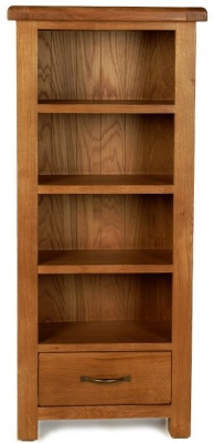 Arles Oak Petite CD and DVD Cabinet