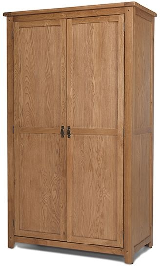 Cherington Oak 2 Door Wardrobe